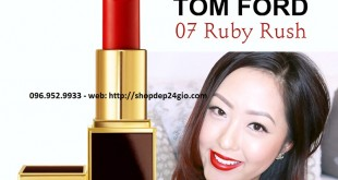 Review son Tom Ford màu Ruby Rush