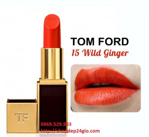 Son Tom Ford Wild Ginger màu cam